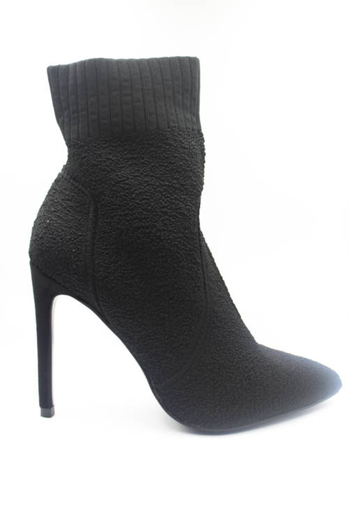 Booties with heel